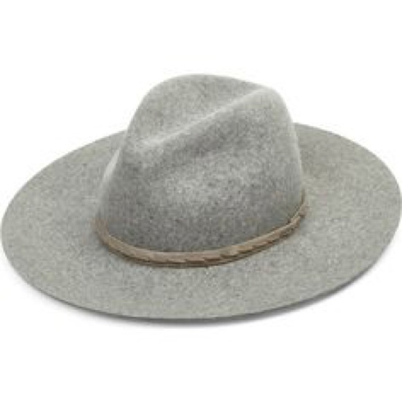 077d7ea6e9f RAG   BONE Wide Brim Wool Fedora - light gray. M 5b087b7a84b5ce4aef84f653.  Other Accessories ...
